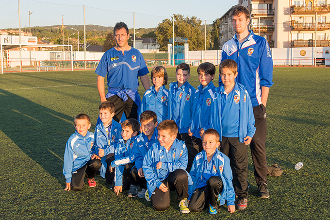 Picture of team [Prebenjamí blau]